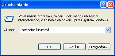 Uruchamianie programu w Windows XP